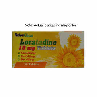 Loratadine 10mg Tablets (Pack of 30)