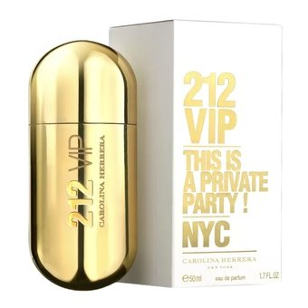 212 VIP Womens by Carolina Herrera - Eau De Parfum 50ml