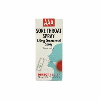 AAA Throat Spray (60 metered doses)