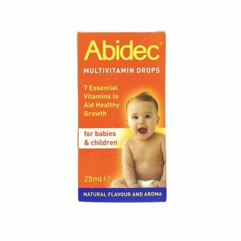 ABIDEC Multivitamin Drops - 25ml