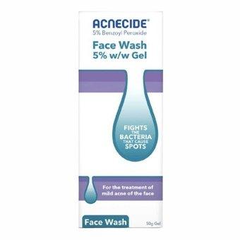 Acnecide Face Wash Spot Treatment 5% w/w Gel 50g