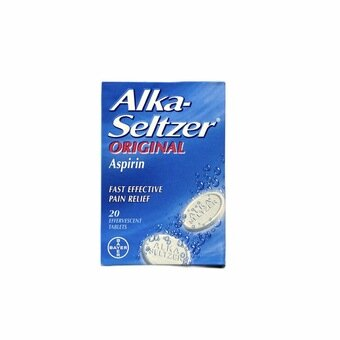 Alka Seltzer Original Tablets (Pack of 20)