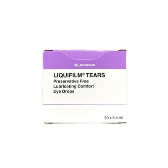 Liquifilm Tears Eye Drops Preservative-free 0.4ml (Pack of 30)