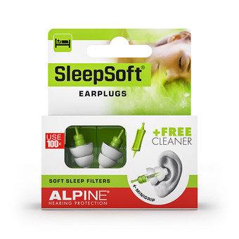Alpine Sleepsoft Earplugs + Free Cleanser (1 Pair)