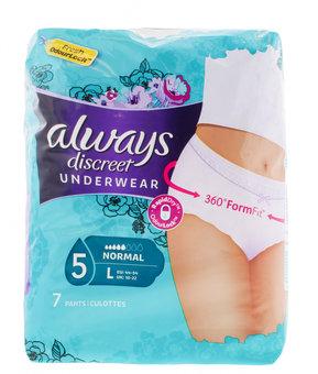 Always Discreet Underwear Large Normal Pack of 7