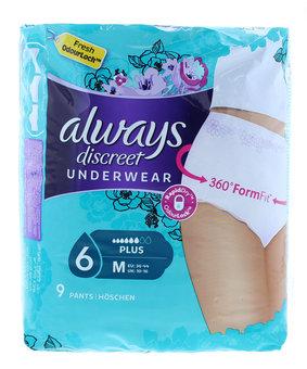 Always Discreet Underwear Medium Plus Pack of 9