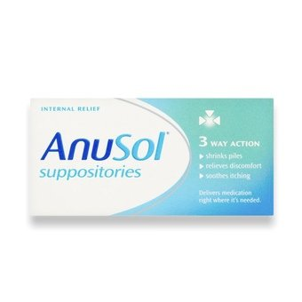 Anusol Suppositories (Pack of 12)