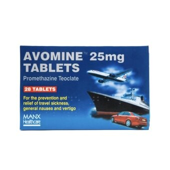 Avomine Tablets 25mg (Pack of 28)