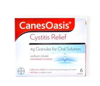 Canes Oasis Cystitis Relief (Pack of 6)