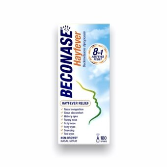 Beconase Allergy Nasal Spray For Adults (180 Doses)