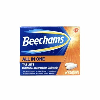 Beechams All-in-one Tablets (Pack of 16)