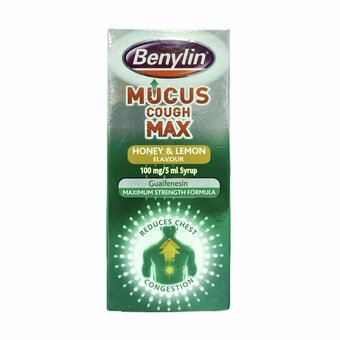 Benylin Mucus Cough Max 150ml - Honey & Lemon