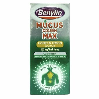 Benylin Mucus Cough Max Honey & Lemon 300ml