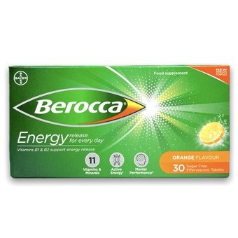 Berocca Energy Tablets - Orange (Pack of 30)