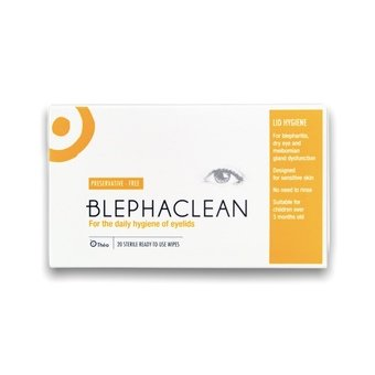 Blephaclean Wipes (Pack of 20)