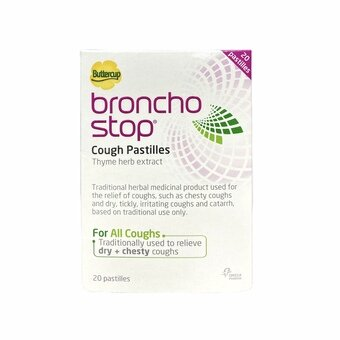 Buttercup Broncho Stop Cough Pastilles (Pack of 20)