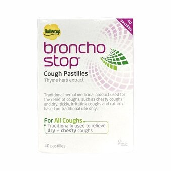 Buttercup Broncho Stop Cough Pastilles (Pack of 40)