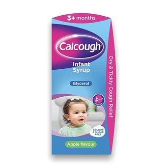 Calcough Infant Syrup 125ml