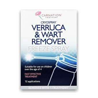 Carnation Verruca & Wart Remover Freeze Spray