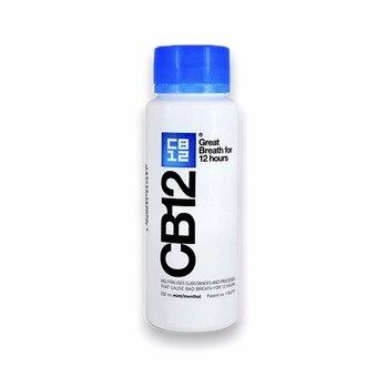 CB12 Safe Breath Oral Rinse Menthol Mild 250ml