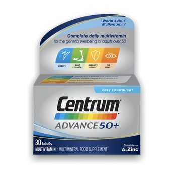 Centrum Advance 50+ Tablets (Pack of 30)