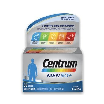 Centrum Men 50+ Tablets (Pack of 30)
