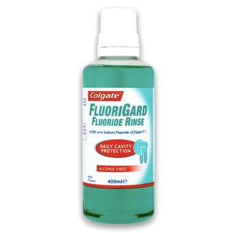 Colgate Fluoriguard Alcohol Free Daily Mouthrinse 400ml