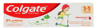 Colgate Kids Natural Fruit Flavour Toothpaste 3-5 years 75ml