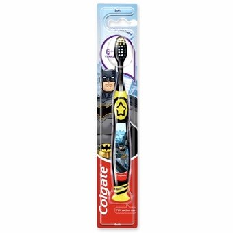Colgate Kids Soft 6+ Toothbrush with Tongue Cleaner (Pack of 1)