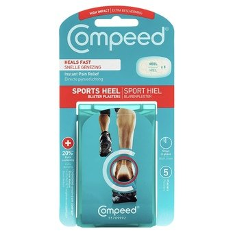 Compeed Sports Heel Blister Plasters (Pack of 5)