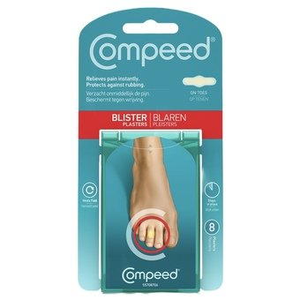 Compeed Toe Blister Plasters (Pack of 8)