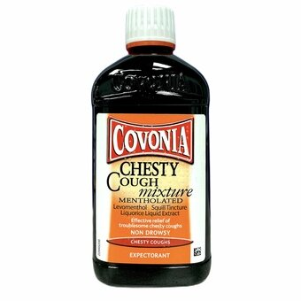 Covonia Menthol Cough Mixture Expectorant 300ml