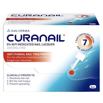 Curanail Medicated Nail Lacquer 5% w/v 3ml