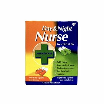 Day & Night Nurse Capsules (Pack of 24)
