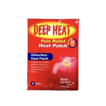 Deep Heat Pain Relief Back Patch