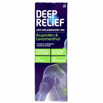 Deep Relief Anti-inflammatory Gel 50g