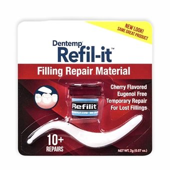 Dentemp Refil-it Filling Repair Material - Cherry Flavour