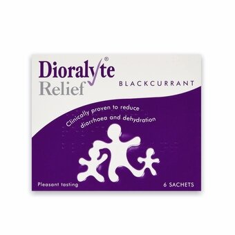 Dioralyte Relief Sachets Blackcurrant (Pack of 6)