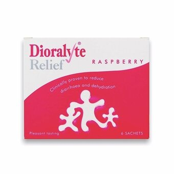 Dioralyte Relief Sachets Raspberry (Pack of 6)