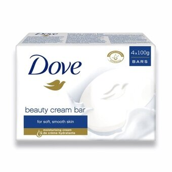 Dove Beauty Cream Bar 100g (Pack of 4)