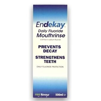 Endekay Fluoride Mouthrinse Daily 500ml