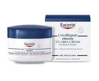 Eucerin Urea Repair Original 5% Cream - Body & hands - 75ml
