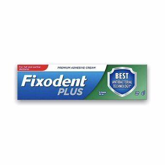 Fixodent Plus Premium Adhesive Cream - Dual Protection Freshmint 40g