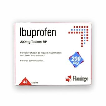 Ibuprofen Tablets 200mg (Pack of 48)