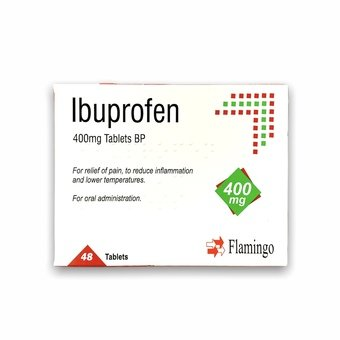 Ibuprofen Tablets 400mg (Pack of 48)