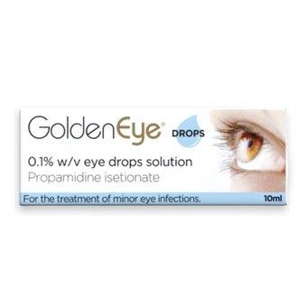 Golden Eye 0.1% w/v Eye Drops Solution - Propamidine isetionate 10ml