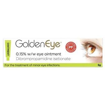 Golden Eye 0.15% w/w Eye Ointment 5g