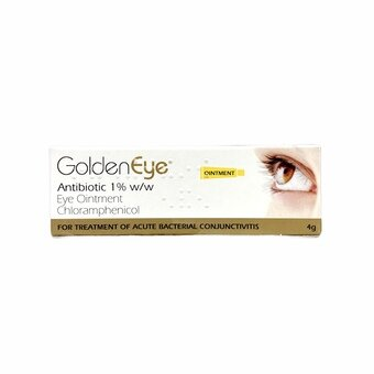 Golden Eye Antibiotic Chloramphenicol Ointment 4g