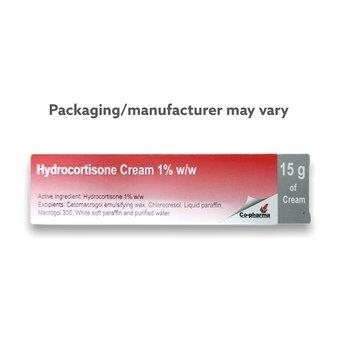 Hydrocortisone Cream 1% 15g