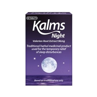 Kalms Night Valerian Root Extract 96mg Tablets (Pack of 50)